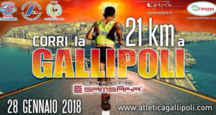 Maratonina dello Jonio-Gallipoli 2018